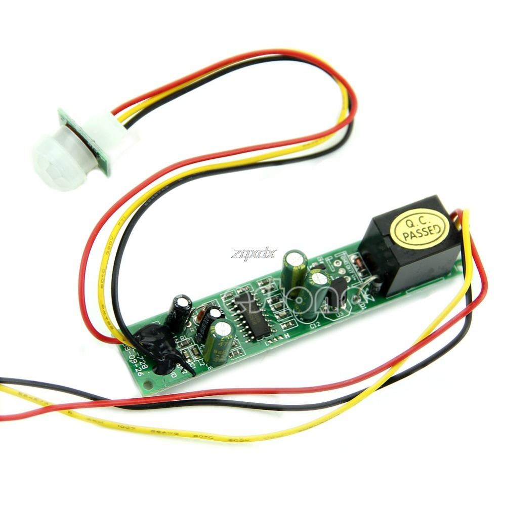 New 5a 12v Dc Ir Pyroelectric Infrared Pir Motion Sensor Detector Module Z09 Drop Ship Mild And Mellow Demo Board & Accessories