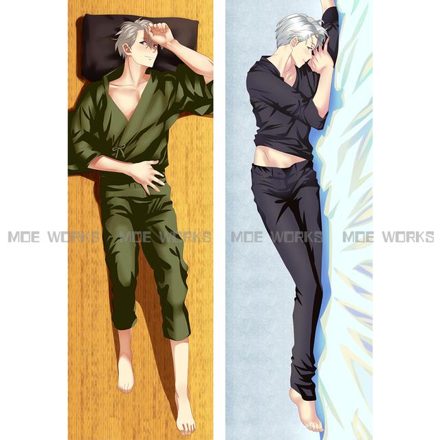 YURI!!! on ICE Victor Nikiforov Michele Yuri Katsuki Yuri Plisetsky anime dakimakura body pillow case cool male