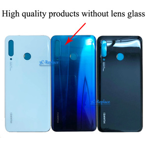 Image 2 - Оригинальный 6,1 дюймовый для Huawei P30 Lite / Nova 4E MAR LX1 L01 L21 L22 стеклянная задняя крышка батарейного отсека Корпус батарейного отсека задняя крышка