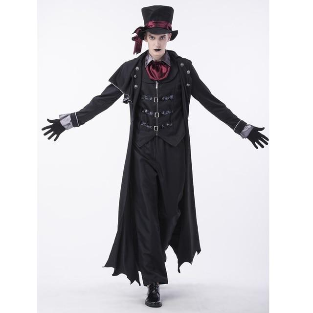 SESERIA Vampiro Del Partito di Halloween uomo Costume di Ruolo Malvagio  Vampiro Cosplay Uniforme degli uomini 62673686ef85