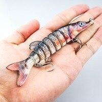 FANSHANG рыболовная приманка искусственная яркая плавательные приманки 13 см-21 г Jionted Lure Baits