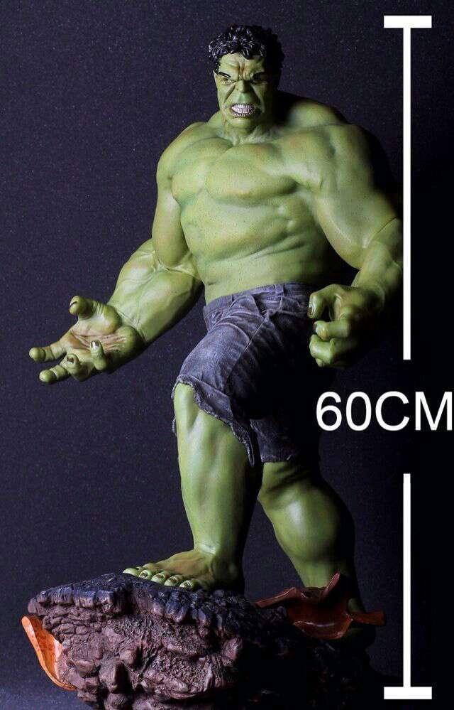 Free Shipping Hot Nueva Llegada 1 4 Escala de Edad de Ultron Hulk Avengers 24 Estatua