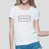 Letters print 2016 funny black women punk brand t-shirts summer casual streetwear hipster harajuku female kawaii slim tee shirt