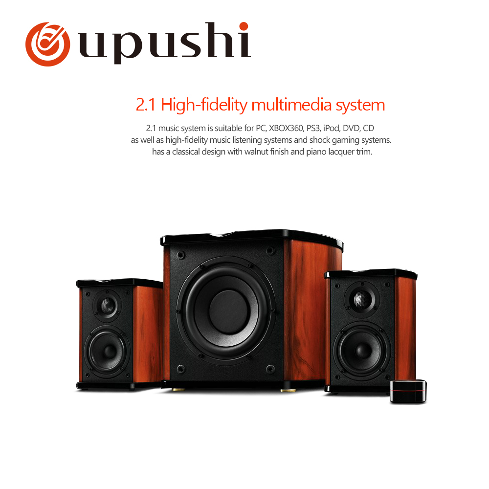 Unterhaltungselektronik Tragbares Audio & Video Oupushi M50w Multimedia-lautsprecher 2,1 Kanal Subwoofer Pack
