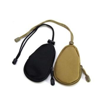 Venta al por mayor, bolso de caza del ejército, bolsa de mano para ventilador, EDC para exteriores, Kit de dispositivos, accesorio táctico de camuflaje, paquete de bolsillo para monedas AA