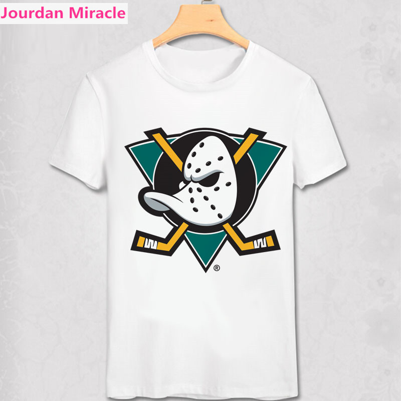 Mighty Ducks T-Shirt Rétro LNH Ligue Hommes Femmes Cadeau T-Shirt Toute L'équipe Logo Imprimé T-Shirt D'été lightning de tampa bay présent chemise