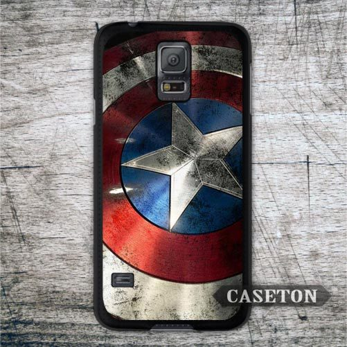 Classic Captain America Shield Case For Samsung Galaxy S8 S7 S6 Edge Plus S5 S4 S3 mini s5 Active Win Note 4 3 A7 A5 Core Ace 2