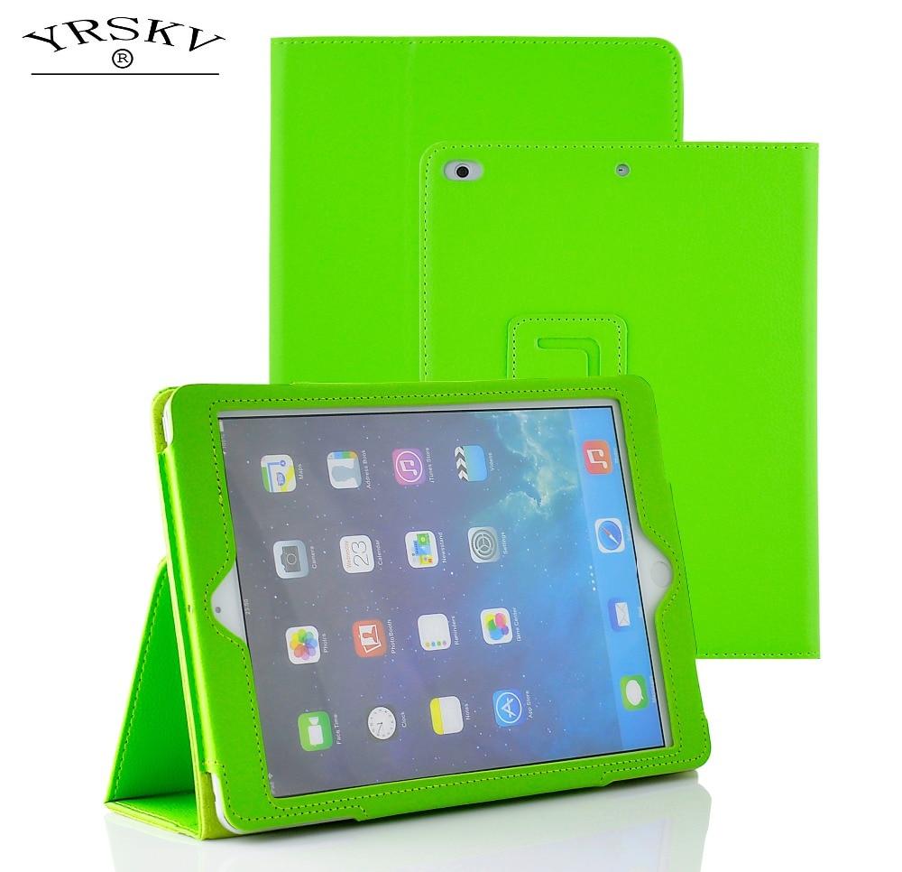 Case for iPad 2 iPad 3 iPad 4 YRSKV bracket PU high quality leather Smart Auto Sleep Wake Tablet Case for iPad 2/3/4