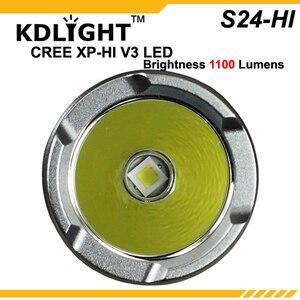 Image 2 - ใหม่ KDLITKER S24 HI CREE XP L HI V3 สีขาว 6500K / Neutral White 4500K/WARM White 3000K 1100 Lumens 3 โหมดไฟฉาย LED
