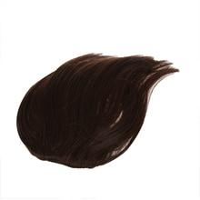 HTHL-парик из синтетических волос для челка с 2 зажимами-светло-коричневый