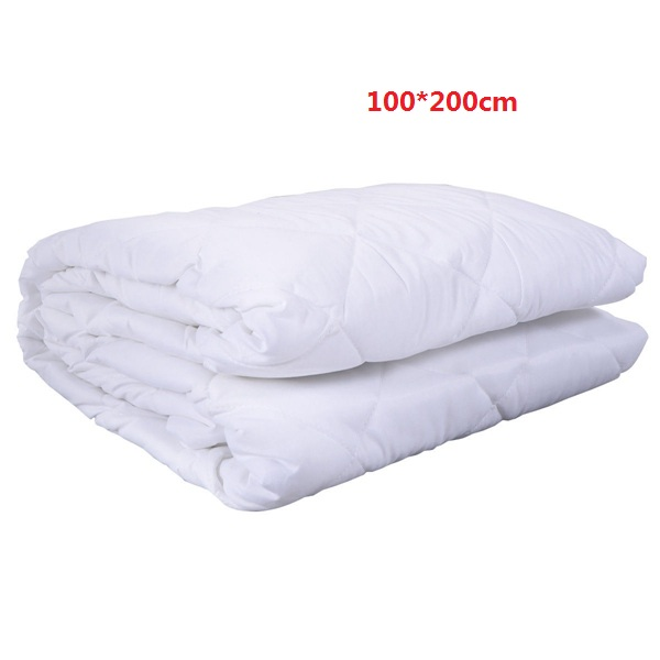 Mattress Cover Bed Topper Bug Dust Mite Moistureproof Pad Protector Quilted 180*200cm
