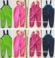 Весна розничный бренд брюки для мальчиков и девочек детей штаны Topolino холодный ветер и дождь непромокаемые комбинезоны детей в Наличии