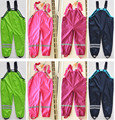 Spring retail brand pants for boys and girls children pants Topolino cold wind and rain waterproof overalls children in Stock