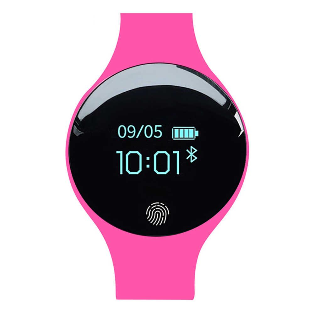 Reloj inteligente SD01 con vibración para hombres y mujeres, reloj despertador, pulsera, contador de pasos Bluetooth, reloj deportivo resistente al agua, Dropship