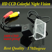 Hot Selling Rearview camera For  CITROEN DS4 2013 CITROEN C4L camera vehicle water-proof Parking assist CCD HD Free Shipping