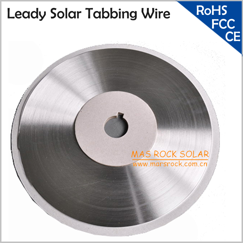 1KG Leady Solar Tabbing Wire / PV Ribbon Wire, Size 2x0.15mm,2x0.2mm,1.8x0.16mm,1.6x0.15mm,1.6x0.2mm etc Solar Cells Solder Wire