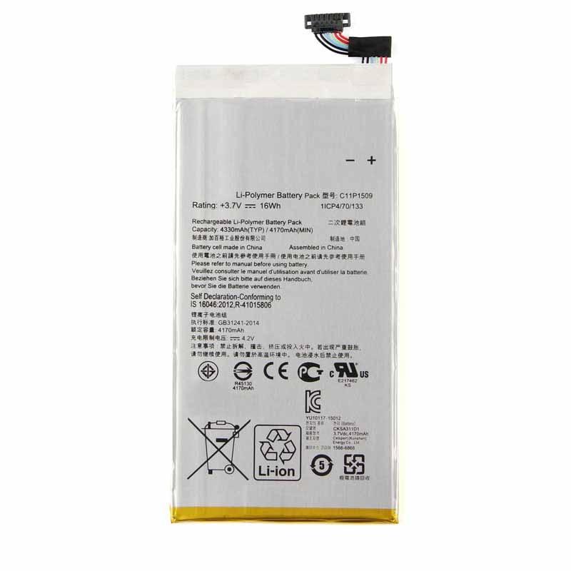 Original High Capacity C11P1509 Battery For ASUS