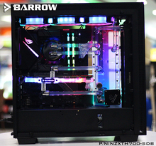 Barrow Acrylic Board as Water Channel only use for NZXT H700 Computer Case Both CPU and GPU Block /RGB to 5V GND 3PIN