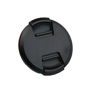 Image 2 - 30pcs/lot High quality 40.5 49 52 55 58 62 67 72 77 82mm center pinch Snap on cap cover for SONY camera Lens