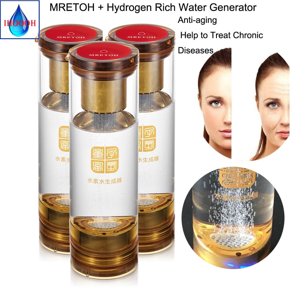 Hydrogen peroxide + MRET OH Molecular Resonance Effect Technology generator Discharging electrolytic harmful substances