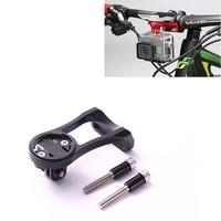 Bike Bicycle Computer Stem Extension Mount Holder With Gopro Bracket Adapter For GARMIN Edge GPS