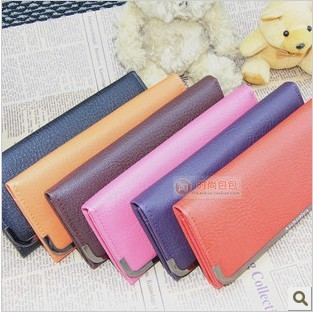 FREE SHIPPING Women's handbag long design women's PU leather wallets day women's bags fashion designer purse DZ1477