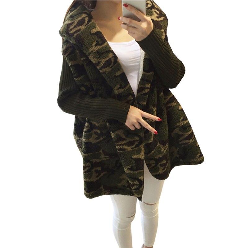 2017 Herbst Winter Neue Frauen Lammwolle Lose Pullover Mittel Lange Mit Kapuze Pullover Einfarbig Langarm Warme Pullover 4l35 Warmes Lob Von Kunden Zu Gewinnen