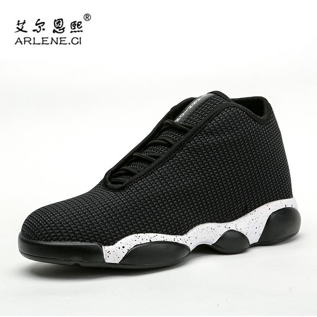d6f071fa10e495 Men Women Brand Basketball Shoes Breathable High Top Air Mesh Knitted  Couples Sport Sneakers Jordan Mens Cushion Shoes Red Black