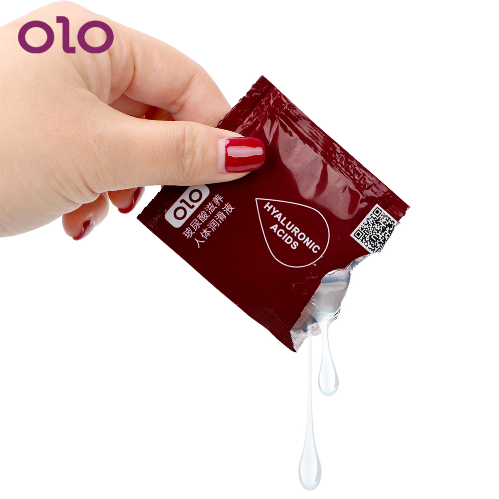 OLO Erotic Sex Toys For Women Men Sex Products Sex Lubricant 7mL Smooth Enhance Pleasure Water-based 3 Pieces Anal Vagina Oil