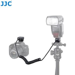 Image 1 - JJC 1,3 M TTL Off DSLR шнур для вспышки камеры Горячий башмак Синхронизация удаленный кабель фокусировки света кабель для Canon 600EX II RT/600EX RT/430EX