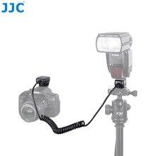 JJC 1.3 m TTL Off DSLR מצלמה פלאש כבל חמה נעל סנכרון מרחוק כבל אור פוקוס כבל עבור Canon 600EX II RT/600EX RT/430EX III RT