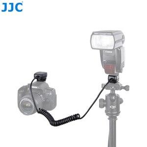 Image 1 - Jjc 1.3 m ttl 오프 dslr 카메라 플래시 코드 핫슈 동기화 원격 케이블 라이트 포커스 케이블 캐논 600ex II RT/600ex rt/430ex III RT
