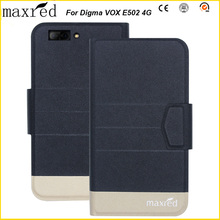 5 Colors Original! Digma VOX E502 4G Case High Quality Flip Ultra-thin Luxury Leather Protective Case For Digma VOX E502 4G чехол для сотового телефона digma vox e502 4g