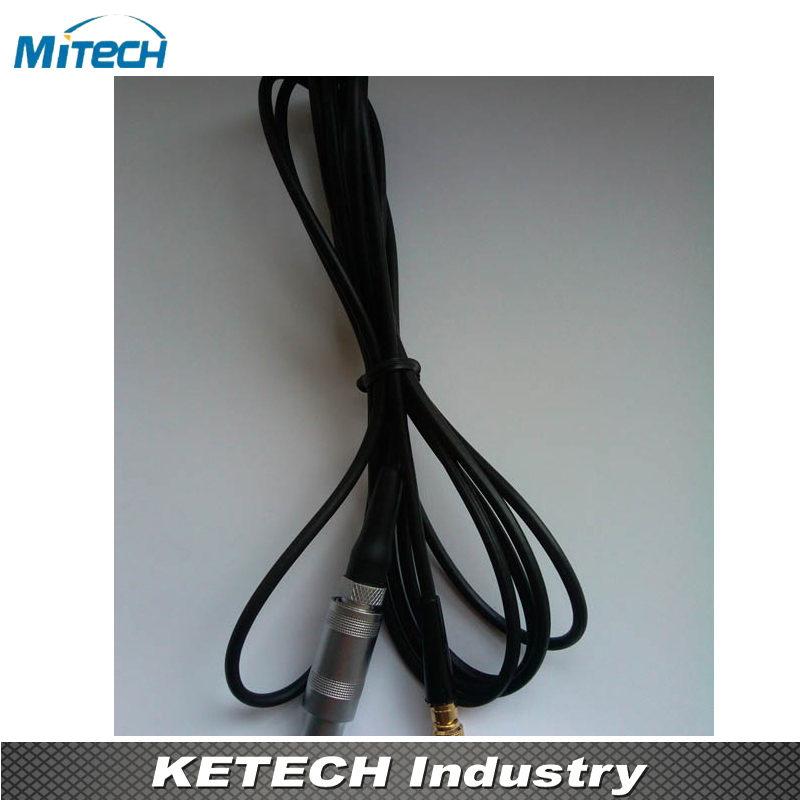LEMO01 Connector Subvis Connection Cable For Ultrasonic Flaw Detector(C9-S5) mitech 60 degree angle beam probe transducer 2mhz 20x22mm for mfd350b mfd500b mfd620c mfd650c mfd800c ultrasonic flaw detector
