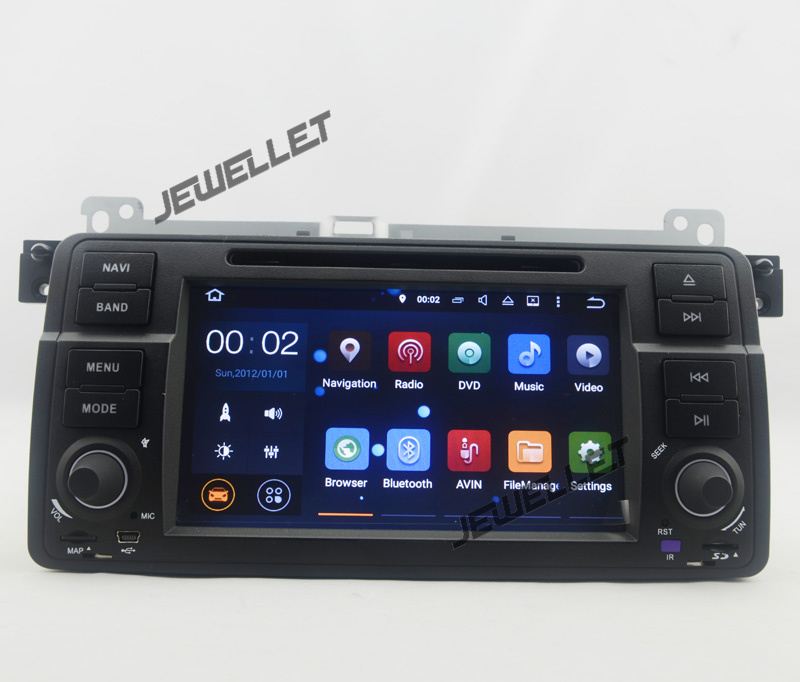 quad core Android 9.0 Car DVD GPS radio Navigation for BMW 3 Series E46 M3 1999 2005 with 4G/Wifi DVR OBD 1080P
