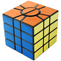Cubo Mágico Profissional Cubo Mágico 3x3x3 QJ Super Square 1 SSQ Enigma Velocidade Cubo Aprendizado & Educação Brinquedos Clássicos Para crianças