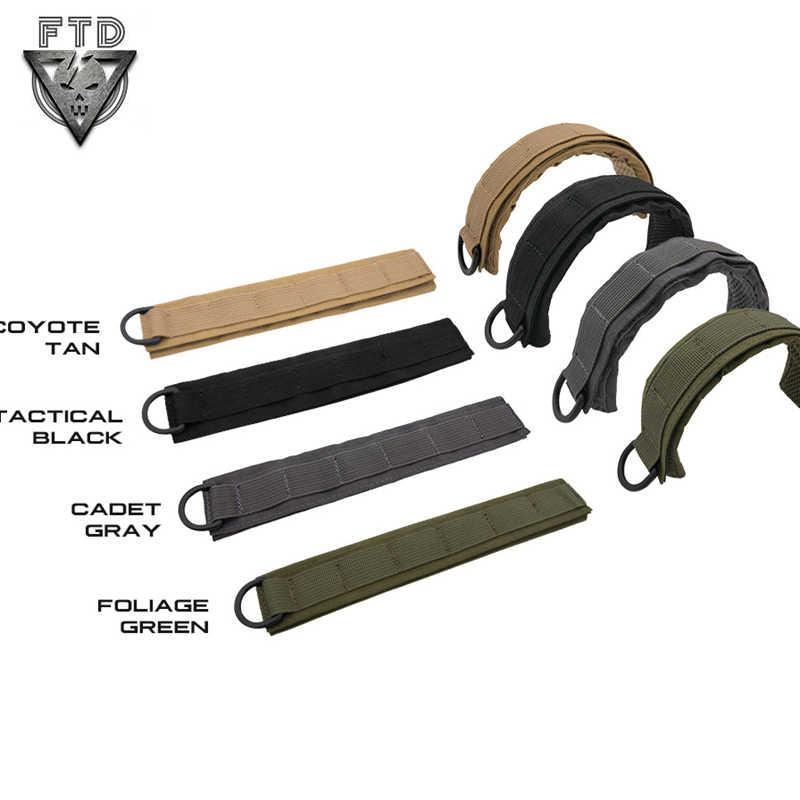 OAREA Tattico Modulare Copertura Auricolare Molle Fascia Esterna Militare Cuffia Copertura Wargame Microfono Accessori Caccia