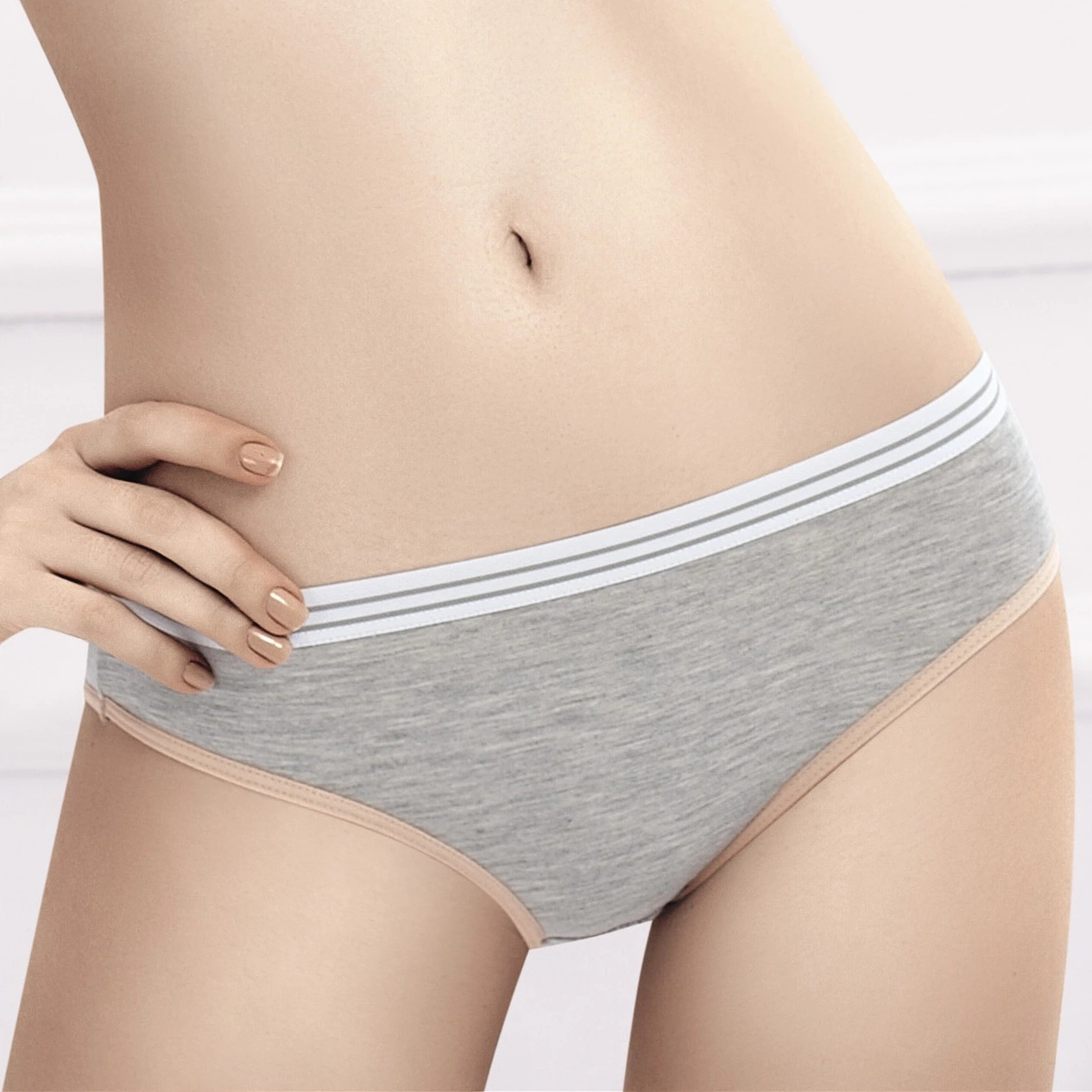 3pieces/$14.55 Women Cotton Underwear Girl Sweet Comfortable Soft Carry Buttock Shapes Breathable Underwear