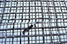 Customized 145cm width blue black tartan lattice satin Chiffon silk gauze Cloth Fabric Shirt coat skirt