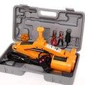 2TON 2-head sedan and SUV 12V auto electric hydraulic jack car lift jack tire repair tools toolkit jack