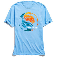 Sea Sky Yin Yang T-shirt Men Tshirt Discount Design Tops O Neck Summer Autumn 100% Cotton Short Sleeve T Shirt for Adult Tees цена