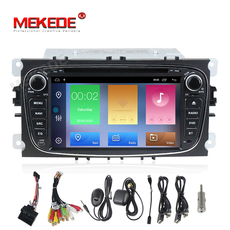 MEKEDE HD Car Multimedia player Android 9.1 GPS Autoradio 2 Din For FORD/Focus/Mondeo/S-MAX/C-MAX/Galaxy RAM 2GB 32GB RadioMEKEDE HD Car Multimedia player Android 9.1 GPS Autoradio 2 Din For FORD/Focus/Mondeo/S-MAX/C-MAX/Galaxy RAM 2GB 32GB Radio
