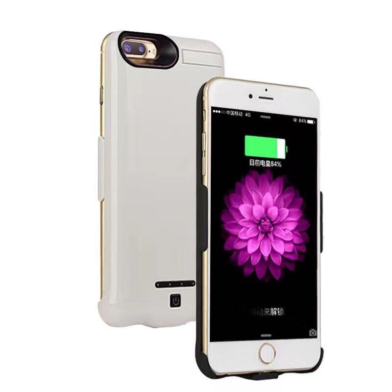 imágenes para 10000 mah nueva batería externa portátil para iphone 7/7 plus caso caso banco de la energía del cargador de batería de repuesto