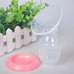 Горячие Детские Кормление ручной молокоотсос партнер груди коллектор Автоматическая коррекция грудного молока силиконовые насосы USB PP BPA