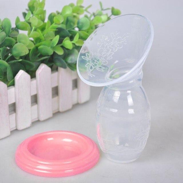 Panas Bayi Makan Manual Breast Pump Pasangan Payudara Kolektor Koreksi Otomatis Payudara Silikon Pompa USB PP BPA Free