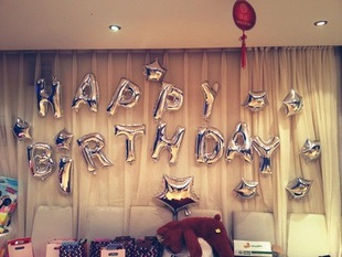 10pcslot balloons supply 16inch gold silver letter balloons foil balloon 35cm alphabet indoor outdoor