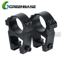 Greenbase прозрачный высокий профиль 1 дюйм/30 мм область кольца прицела для 11 мм ласточкин хвост