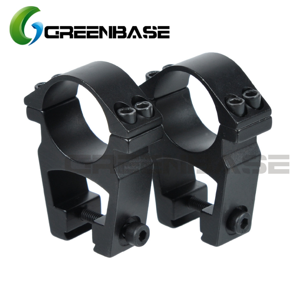 Greenbase See-Through High Profile 1 inch/30mm Scope Rings Scope Mount For 11mm Dovetail Rail steel boned see through corset