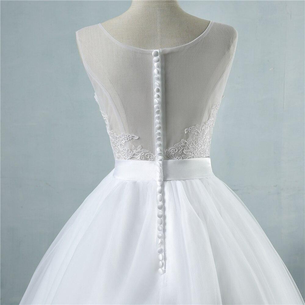 ZJ9042 Ζεστό πώλησης Chiffon Beach Γάμος - Γαμήλια φορέματα - Φωτογραφία 6