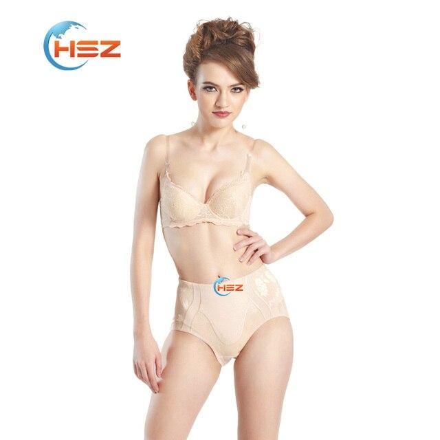 1206 New Plus Size Waist Trainer Women Panties Tummy Control Underwear Shaper Wear